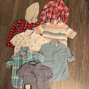 Toddler lot of dress shirts